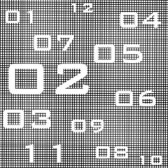 orologio reticolato