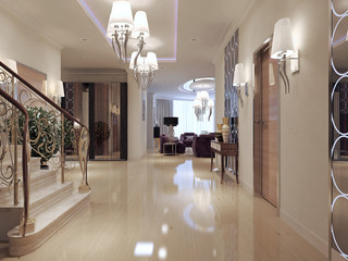 Hall neoclassical style