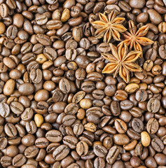 texture coffee beans