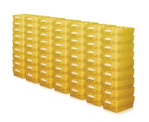 viele Postbehälter