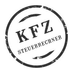 sk245 - Stempel Rund - Kfz-Steuerrechner - kfz6 g2733