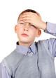 Kid feel Headache