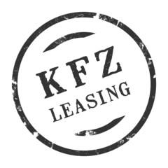 sk246 - Stempel Rund - Kfz-Leasing - kfz7 g2734