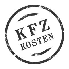 sk247 - Stempel Rund - Kfz-Kosten - kfz8 g2735