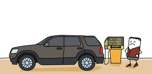 Prix des carburants - gasoil