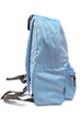 Blue backpack isolated on white