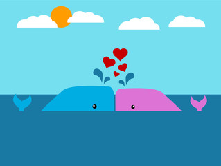 Whale Couple