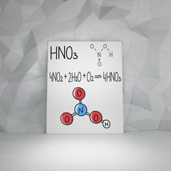 chemical structure H2O and 2H2O