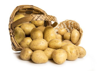 Cestos de patatas