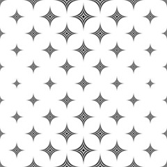 Monochromatic seamless star pattern