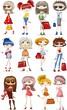 Постер, плакат: Мультфильм модные девушки