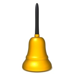 Bell 3d illustration