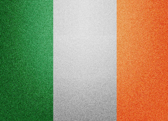 Denim Ireland flag