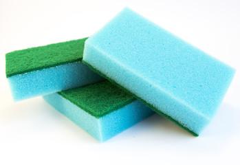 Blue sponges