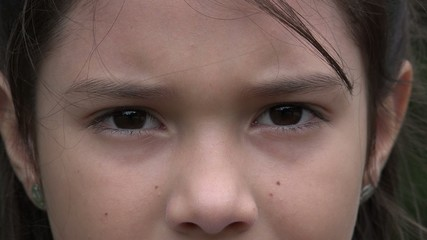 Eyes, Young Girl, Eyesight