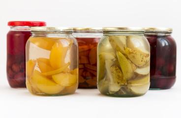 Peaches bears jars