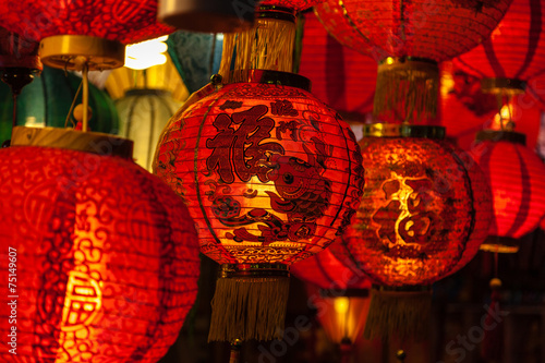 Red Chinese Lanterns