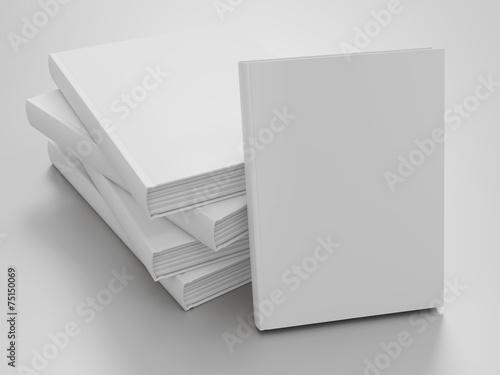 Empty book mockup template - 75150069