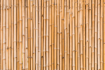 decorative old bamboo wood