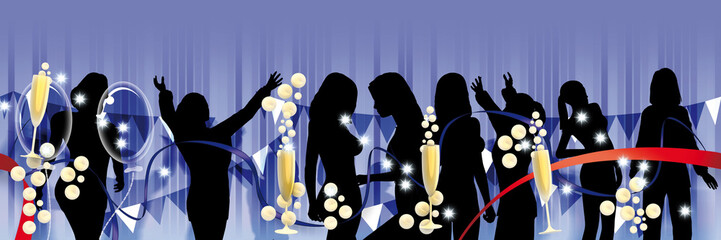 Party banner solo donne