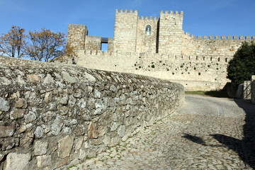Castle in Trujillo, Caceres province, Extremadura, Spain