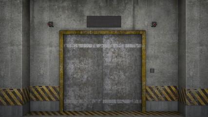 エレベーター通路