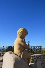 Statue d'un ange à Notre Dame de La Garde, Marseille