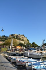 Centre-ville de Cassis ,  autour du port