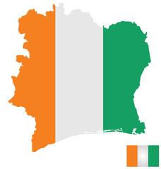 Flag of the Ivory Coast