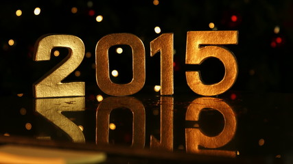2015 sign for new year