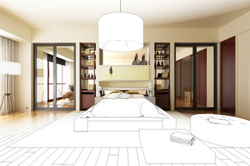Luxury Sleeping Apartment (project)