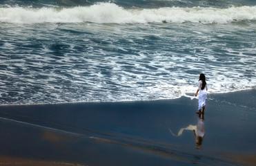Facing the Ocean