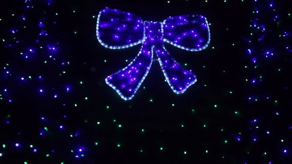 Glowing bow