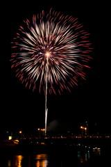 Fireworks Burst - Stock Image