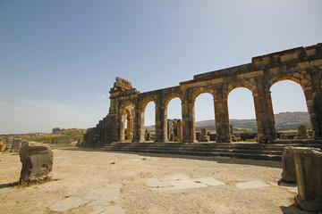 Roman ruins of Volubis, Morocco