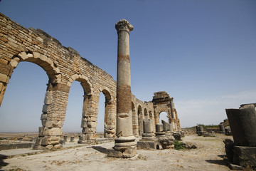 Roman ruins of Volubis, Morocco