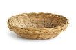 Wicker basket isolated on white background - 75162654