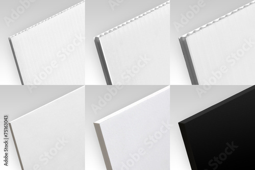 Leinwanddruck Bild Matériaux - collection 3