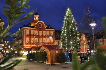 Weihnachtsmarkt in Suhl / Thüringen