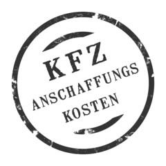 sk275 - KFZ-Stempel - Kfz Anschaffungskosten kfz36 g2763