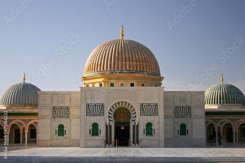 Staande foto Tunesië Bourguiba Moschee, Monastir, Tunesien