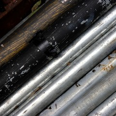 Metal bars and rods