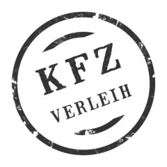 sk281 - KFZ-Stempel - Kfz Verleih kfz42 g2769