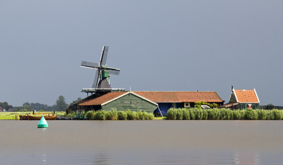 Dutch Windmill near Amsterdam