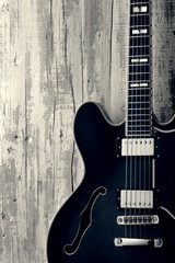 blues guitar vintage photo