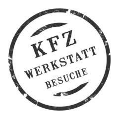 sk285 - KFZ-Stempel - Kfz Werkstattbesuche kfz46 g2773