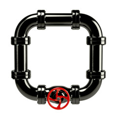 Closed pipe system loop