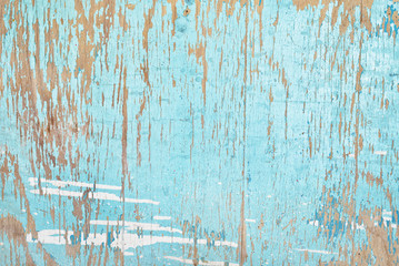 Old wood background with paint peeling down
