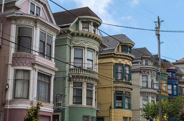 San Francisco - Colourfull Houses