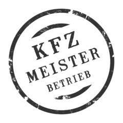sk289 - KFZ-Stempel - Kfz Meisterbetrieb kfz50 g2777